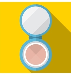 Powder flat icon vector image