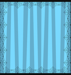 Striped blue square background with cute vertical vector