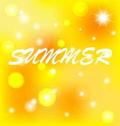 Background summer vector