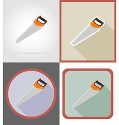 repair tools flat icons 06 vector image vector image