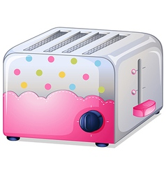 A toaster vector image