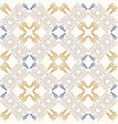 french shabchic azulejos tile texture vector image