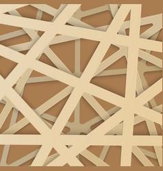 irregular abstract grid vector image