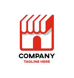 modern book store logo vector image