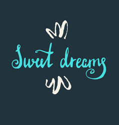 modern hand drawn lettering phrase vector image