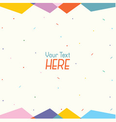 Of abstract background vector