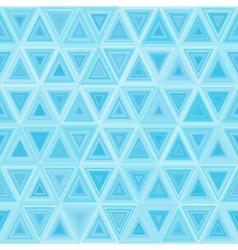 Seamless light Blue Triangulate Pattern vector