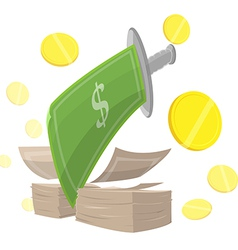 Sword Money Cut Finance vector
