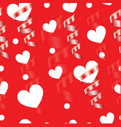 Valentines day card - seamless tileable vector