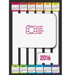 calendar 2 vector image