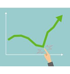 Changes business success vector image