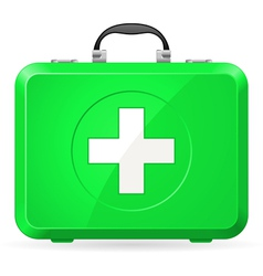 First aid kit vector image