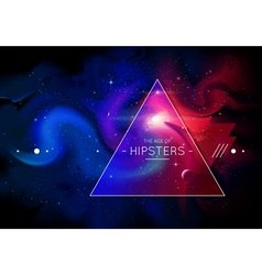 Hipster Background 1 vector image vector image
