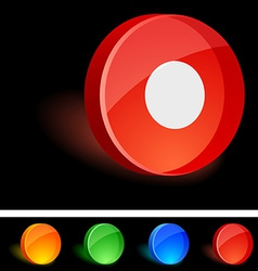 Rec Icon vector image
