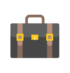 briefcase icon business and education concept vector image