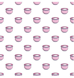pink witches cauldron pattern seamless vector image