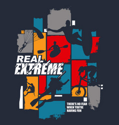 Real extreme vector