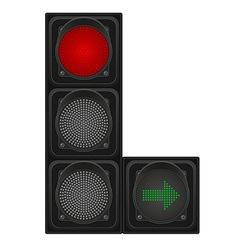 Traffic light 02 vector
