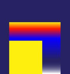 universal trend gradient geometric poster vector image