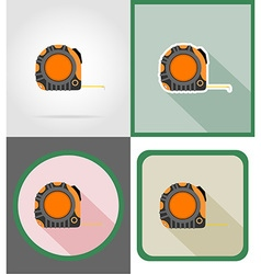 repair tools flat icons 08 vector image vector image