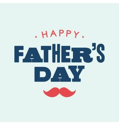 fathers day card letterpress vector image vector image