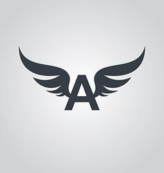 Aviator symbol logo logotype theme vector