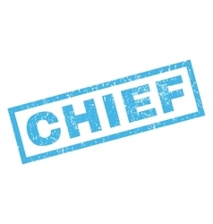 Chief Rubber Stamp vector