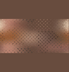 copper grunge background vector image