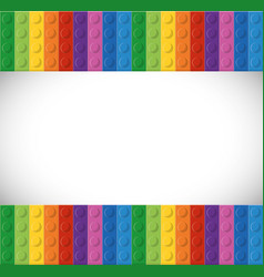 Lego icon Abstract figure graphic vector