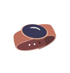 Modern bracelet icon vector