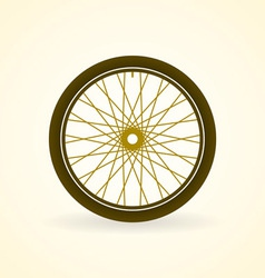 Bike Wheel vector image