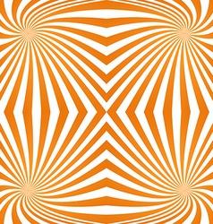 Orange quadrant spiral pattern background vector