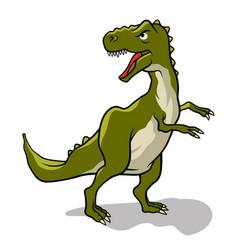 dinosaur 003 vector image vector image