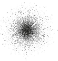 Abstract monochrome halftone eps 10 vector