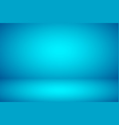 empty blue studio abstract background vector image