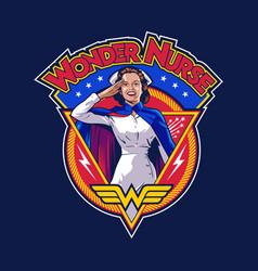 Wonder nurse vector