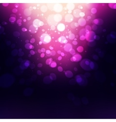 Abstract Holiday Background bokeh effect vector image vector image