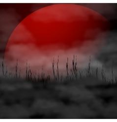 Halloween background - full vector image vector image