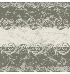 vintage grunge frame vector image