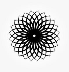 abstract circular 0018 vector image