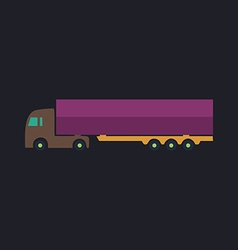 Big Truck computer symbol vector