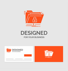 business logo template for encryption files vector image