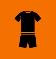 fitness uniform icon vector image