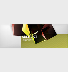 Minimalistic geometric abstract background vector