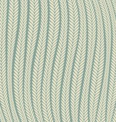 Pattern Wheat Ear Blowing In The Wind vector