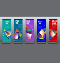 Simple and minimalist colorful fluid vector