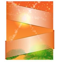 summer banner 1 vector image