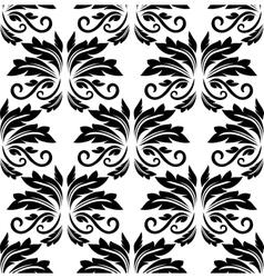 Floral seamless arabesque pattern vector