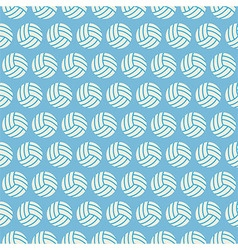 Flat Seamless Sport and Recreation Volleyball vector image vector image