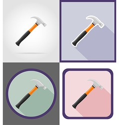 repair tools flat icons 11 vector image vector image